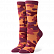 Носки STANCE FOUNDATION WOMEN EGYPTIAN BEETLE TOBACCO