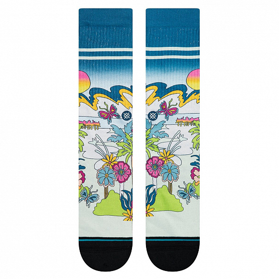 Носки STANCE FOUNDATION TOTAL PARADISE FW20 от Stance в интернет магазине www.b-shop.ru - 2 фото